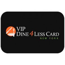 Cartão VIP Dine 4Less em New York